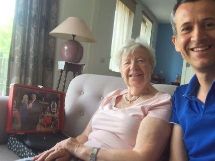 Danny en de moeder van Desiree